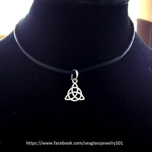Unisex Celtic Trinity Star Necklace